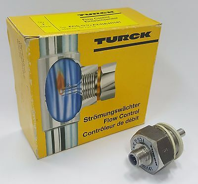 Turck Fcs-G3/4A2-Na-H1141 Flow Control Monitoring Immersion Sensor -Used-