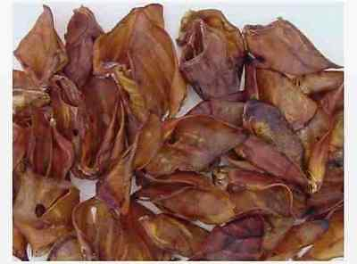 5 Nets of Quality Pigs Ears, (250 in total) Other Natural treats also available.