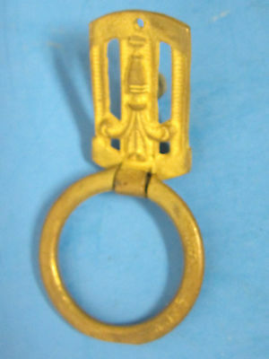 Antique Furniture Drawer Ring Pull Brass