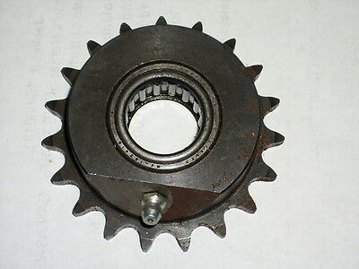 Martin   Sprocket - 40B19 - 1 Inch Bore With Roller Bearing **nos**