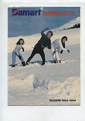 Old 1983-84 Damart Thermolactyl Winter Clothing Catalog