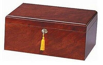 The Milano 75 Cigar Humidor - Dark Rosewood