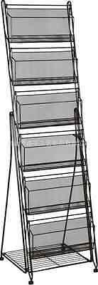 A4 Magazine Rack Holder Stand  Shop Display Unit For Reception or Showrooms