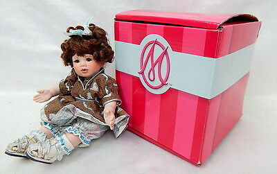 Marie Osmond Porcelain Doll Hershey's Kisses Chocolate Tiny Tot Doll 2005 27328
