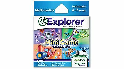 Leap Frog Mini Game Greatest Hits Explorer Learning Game - Mathematics