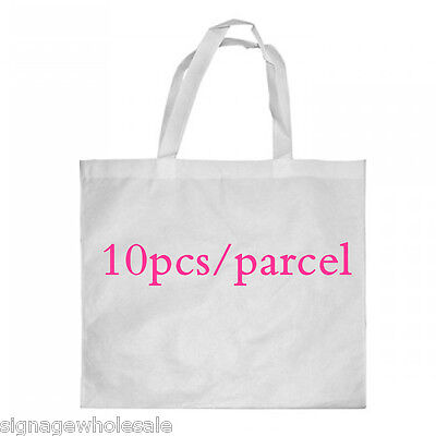 10PCS* 38cmx40cm Blank Dye Sublimation Shopping Bag Large for Heat Press Machine