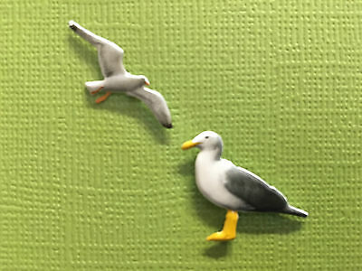 Brads for Card / Scrapbooking / Craft  - Seagul x 2