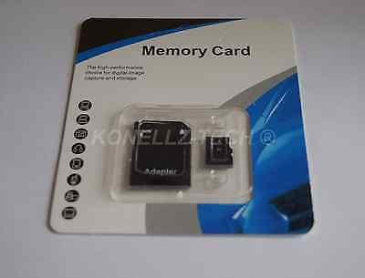 NEW 32GB Micro SD Memory Card SDHC TF Flash Class 10 Retail Pack FREE SD Adapter