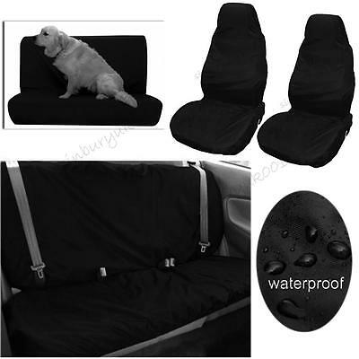 Universal Waterproof Car Front Rear Back Seat Cover Pet Dog Heavy Duty Protector