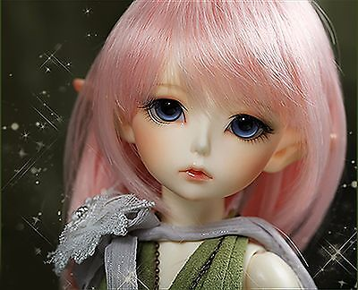 1/6 BJD doll Girl green Noia elf FREE FACE MAKE UP AND FREE EYES