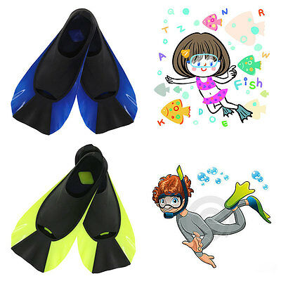 Adult Dive Diving Snorkeling Swimming Scuba Train Fins Flippers Shoes All Size