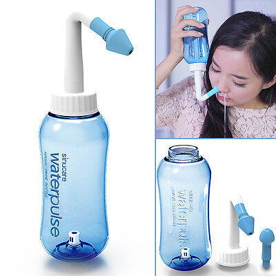 Adults Children Neti Pot Nasal Nose Wash Yoga Detox Sinus Allergies Relief Rinse