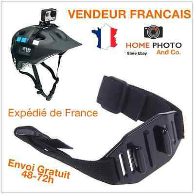 Sangle fixation Tête Casque Support Strap Bandeau Ajustable pour GoPro Hero