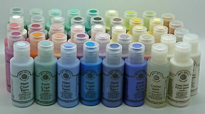 Cosmic Shimmer Matt Chalk Paint and Mediums