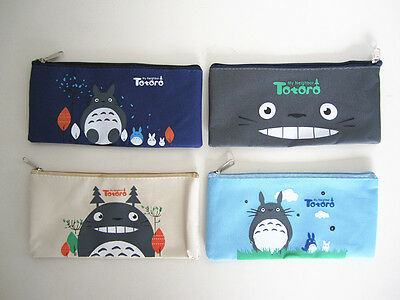 Ghibli Studio My Neighbour Totoro Strong Pouch Holder Pencil Case Stationary Bag