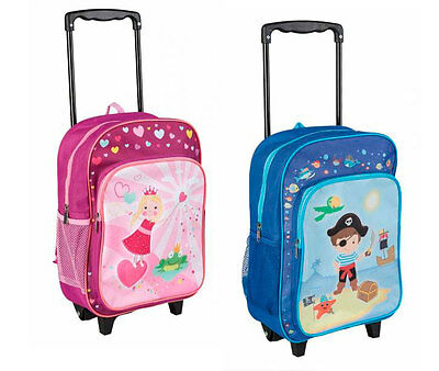 idena rucksack trolley 38x28x13 5cm kinder reise trolley. Black Bedroom Furniture Sets. Home Design Ideas