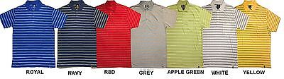 D555 Stripe Polo T Shirt With Pocket (Kenton) Size 1Xl To 6Xl, 7 Colors