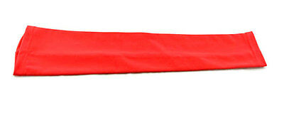 Red Basketball Golf Sport Stretch Arm Sleeve Sleeves