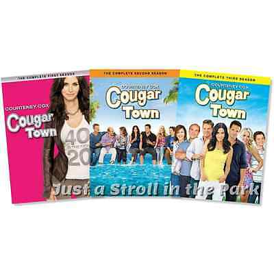 Cougar Town: TV Series Complete Seasons 1 2 3 Box / DVD Set(s) NEW!