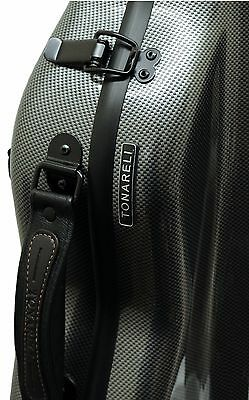 Brand New Tonareli  Graphite Fiberglass Violin Case NEW with FREE Music Bag