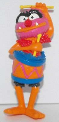 Animal in a Drum from The Muppets Figurine 3 inch Plastic Miniature Figure