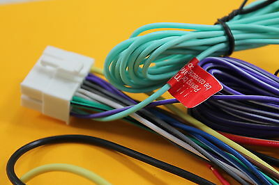 Wire Harness ONLY for Clarion VZ401, VZ-401 VX807 VX-807 NX603 NX602 NX405 NEW