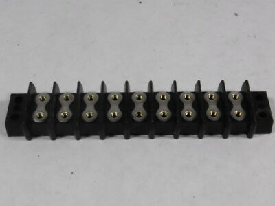 Cinch/Jones 9P Terminal Block Barrier Strip 9-Pos  USED