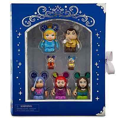 Cinderella Vinylmation Disney Figure Toy Collector Set Of 7 Story Book Box