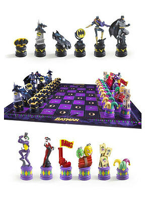 Batman Chess Set Dark Knight vs Joker By Noble Collection