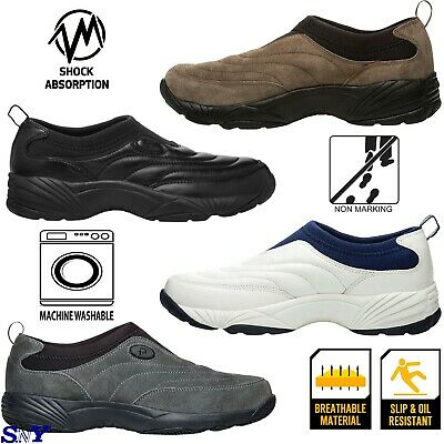Mens Steel Toe sneakers construction work boots shoe Slip resistant wide width