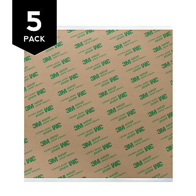 "3M 468MP Adhesive Transfer Tape Sheets 8"" x 8"" (5-Pack)"