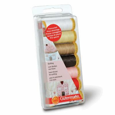 Gutermann Quilting Thread Set - 7 Reels Assorted Colours