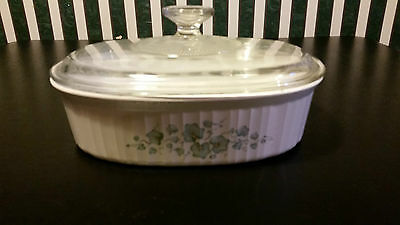 Corning Ware Corelle Callaway Oval Casserole 1.8L  F-12-B With Lid