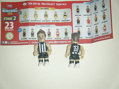 AFL Micro Figures 2016 - Stage 3 - Classic - Taylor Adams - Collingwood