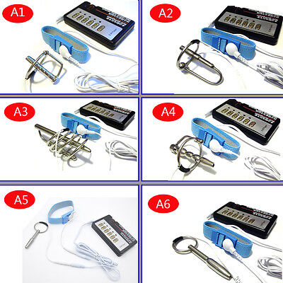 Urethral Plug Electro Shock Sounding Stretcher Stainless Steel DIY A243 A