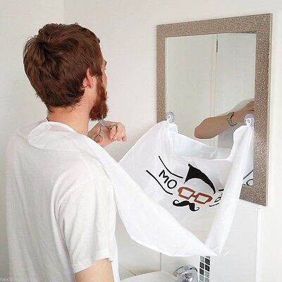 Mo Bro's Beard Bib - Shaving and Grooming Hair Catcher