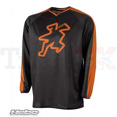 Hebo BAGGY 2 Shirt in Orange for Trials - Offroad Clothing