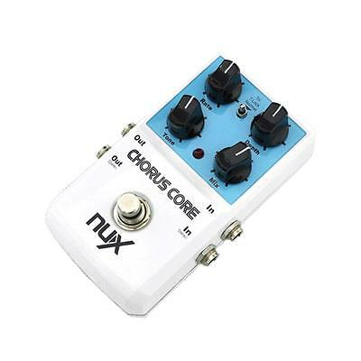 NUX Chorus Core Effect Pedal Tone Lock Preset Function True Bypass A7S2