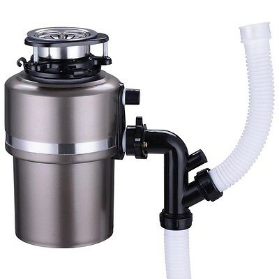 3/4HP 4200 RPM Waste Food Garbage Disposal Kitchen Continuous Feed Disposer Tool