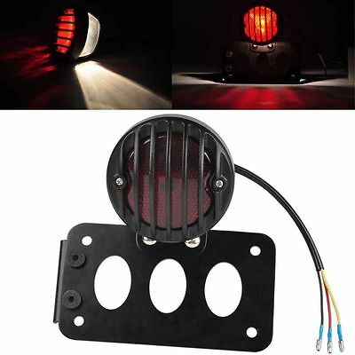 Licence Support Plaque Lumière Montage Latéral pour Harley Sportster Tail light