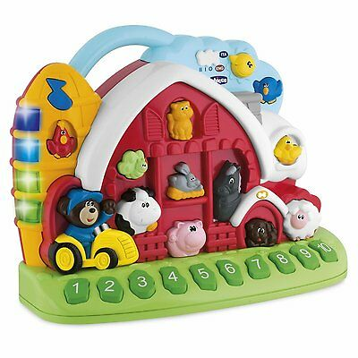 Chicco Bilingual Talking Farm Play Set For Kids To Discover English& French Word
