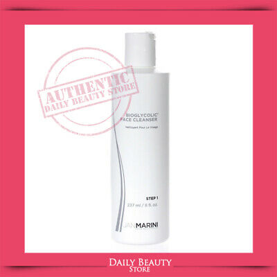 Jan Marini Bioglycolic Facial Cleanser 8oz For All Skin NEW FAST SHIP