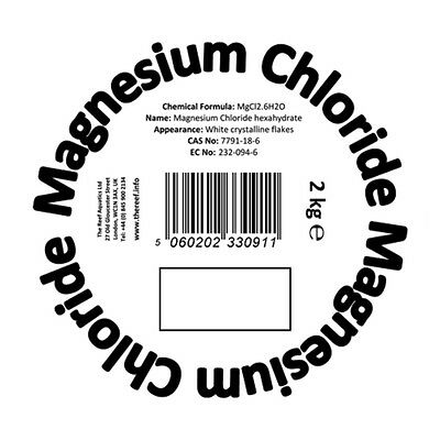 Magnesium Chloride Aquarium Chemical Salt Suppliment