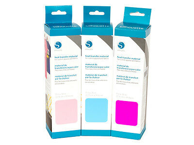 Silhouette SMOOTH HEAT TRANSFER MATERIAL - Available in 14 Colours