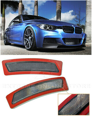 For 13-15 BMW F30 F31 3-Series W/ M Sport Package SMOKE Side Marker Reflector