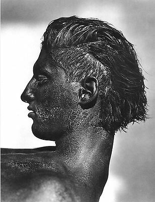 Postcard / Tony Ward with Black Face / Herb Ritts /  1986 / Gay Interest