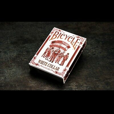 Bicycle White Collar Playing Cards Poker Spielkarten