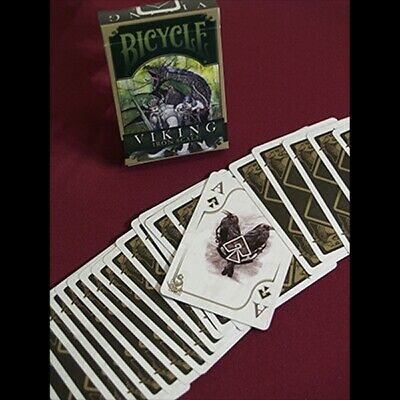 Bicycle Viking Iron Scale Deck by Crooked Kings Cards Poker Spielkarten