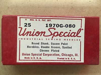 Union Special 1970G-080, Sewing Machine Needles (Pack of 25 needles)