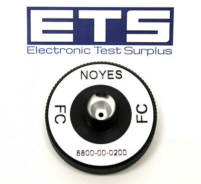 AFL Noyes 8800-00-0200 FC OPM Test Port Adapter For Optical Power Meter